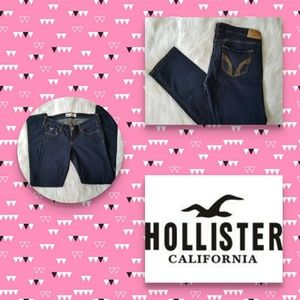 Womens Hollister blue jeans